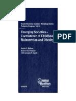 Satish C. Kalhan, Andrew M. Prentice, Chittaranjan S. Yajnik - Emerging Societies - Coexistence of Childhood Malnutrition and Obesity (Nestle Nutrition Workshop Series_ Pediatric Program)-S. Karger AG.pdf