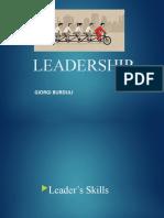 Leader's Skills - Leadership