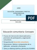 Conceptos básicos de Educación Comunitaria (1)