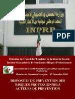Acteurs-prevention
