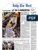 The Daily Tar Heel for February 10, 2011