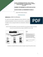 Ejercicio sobre interpretación de datos texturales en rocas sedimentarias_CHUIZACA