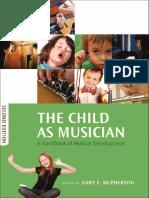 The child as musician  a handbook of musical development