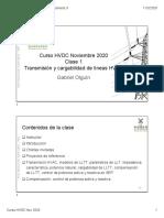Clase 1-Transmision y cargabilidad de lineas HVAC