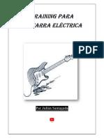 Training para guitarra eléctrica