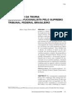 A Recepção da Teoria Neoconstitucionalista pelo Supremo Tribunal Federal Brasileiro.pdf