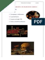 La poesía, la prosa  y el teatro barroca word.pdf
