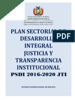 plan sectorial de desarrollo