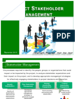 Groupe 4 10 Project Stakeholder Management