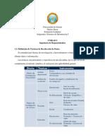 Unidad I. Ingienería de Requerimientos. (1)