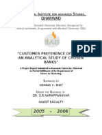 """CUSTOMER PREFERENCE OF ATMs"