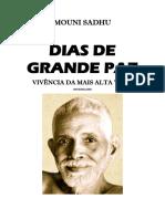 Mouni Sadhu - Dias de Grande Paz PDF
