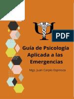 GUÍA DE GUÍA DE PSICOLOGÍA APLICADA A LAS EMERGENCIAS