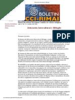 Educación Intercultural y Bilingüe