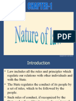 Ch-1 Nature of law