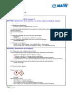 46.Msds- Adesilex Pg 1 Com a- Mapei
