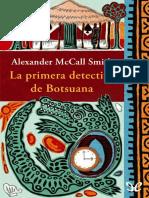 La primera detective de Botsuana