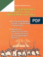 libro programas socialespara Municipalidades
