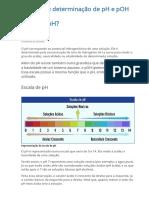 Aula 5 - FQ - Conceito e determinação de pH e pOH