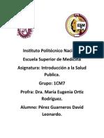 Salud Publica portafolio evidencias 3er parcial.