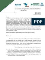 POLÍTICAS PÚBLICAS SOCIAIS E DESENVOLVIMENTO - TECENDO RELAÇÕES