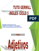 Ingles Ciclo 5 Adjectives November the 5th