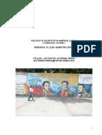 Politica si societate in America Latina (silabus 2017)