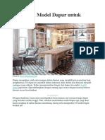 Macam Model Dapur untuk Hunian.pdf