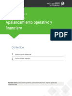Apalancamiento Operarivo y financiero lectura