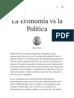 La Economía vs la Política _ Vision América Latin
