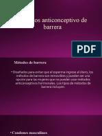 metodo anticonceptivo de barrera