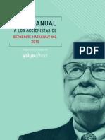 Berkshire Warren Buffet Carta