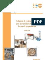 Rapport d'évaluation du système logistique pour la sécurisation des produits de santé de la reproduction