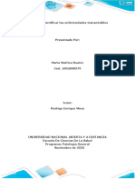Fase 4- Identificar las Enferemedades NO Tranmisibles - Maria Marirtza Suarez R