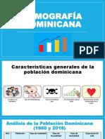 Cracteristicas de la poblacion dominicana