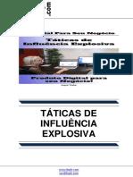 Taticas de Influencia Explosiva