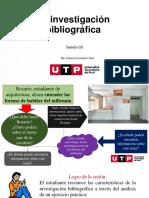 Sesión 3 La investigación bibliográfica (1)