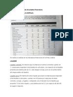 Segundo parcial análisis de estados financieros
