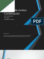 Técnicas de conteo Expo  combinacion.pptx