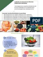 3. B Microbiologia ALIMENTOS O sanitaria
