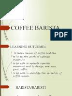 COFFEE BARISTA 2020