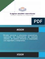 LAPSO MULTI-SERVICES