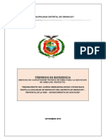 TDR capacitador tecnico de obra 2019