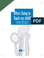 Who Teach