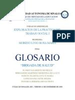 GLOSARIO DEL CAMPO SALUD