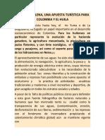 EL RIO MAGALENA UNA APUESTA TURÍSTICA PARA COLOMBIA Y EL HUILA