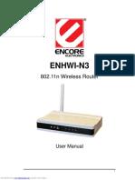 802.11n Wireless Router Enhwi-n3 Encore Electronics