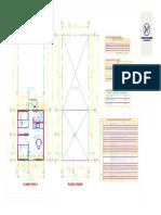 Planta Arquitectura  Vivienda Módulo 08.11.2020