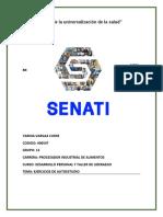 EJERCICIOS DE AUTOESTUDIO SEMANA 5