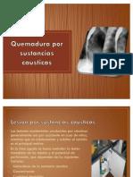Causticos anillos y membranas